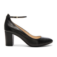 RAYE x Tularosa Ramona Pump in Shiny Black