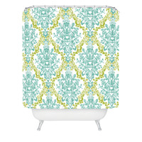 Rebekah Ginda Design Lovely Damask Shower Curtain