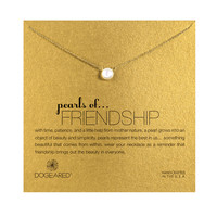 Pearls Of Friendship Pearl Necklace, Gold Dipped | Dogeared