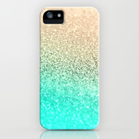 *** GATSBY AQUA GOLD  *** SPRING IS COMING *** iPhone & iPod Case by Monika Strigel