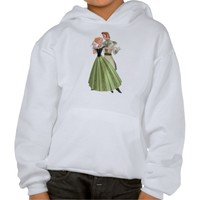 Anna and Hans Hoodie from Zazzle.com