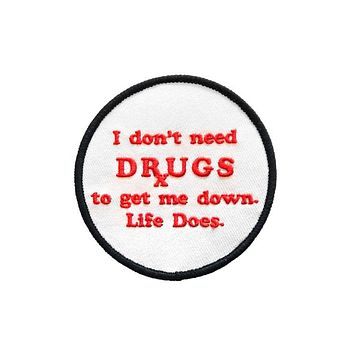 No Drugs Patch