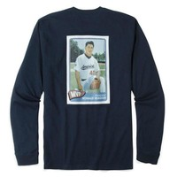Rowdy Gentleman Reagan Rookie Card Long Sleeve Pocket Tee