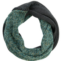 Trentino-Knit Snood-Forest