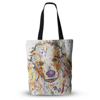 """Rebecca Fischer """"Lily"""" Poodle Everything Tote Bag"""
