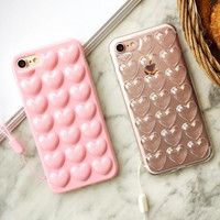 Heart-shaped Case Multiple Protection Cover for iPhone 7 7 Plus & iPhone 5s se 6 6s Plus + Gift Box54