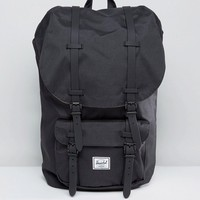 Herschel Supply Co. Little America Backpack in Black 25L at asos.com