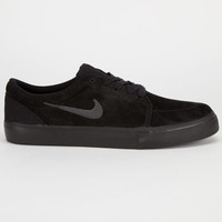 Nike Sb Satire Mens Shoes Black/Anthracite  In Sizes