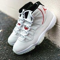 Air Jordan 11 Platinum Tint Fashionable Men Women Sport Running Basketball Shoes Sneakers