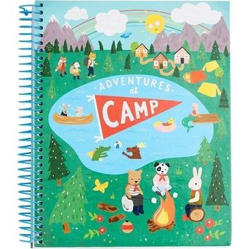 Adventures At Camp Journal