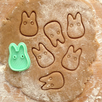 Chibi Totoro cookie cutter, My Neighbor Totoro cookie stamp