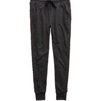 Aerie Cable Knit Skinny Jogger, Charcoal Heather Grey   Aerie for American Eagle