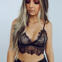 My Secret Bralette: Black