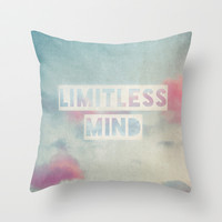 limitless mind Throw Pillow by ingz