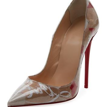 Christian Louboutin So Kate 120mm Collage Red Sole Pump