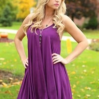 The Plum Of All Things Dress