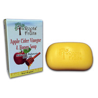 Roots & Fruits Bar Soap - Apple Cider Vinegar And Honey - 5 Oz