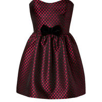RED Valentino - Jacquard Strapless Dress