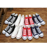Classic High Top Couples Canvas Shoes Fashion Lace Up Sports Sneakers Flats Walking Shoes = 1929548868