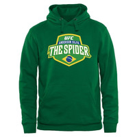 UFC Anderson Silva Country Crest Pullover Hoodie - Green - http://www.shareasale.com/m-pr.cfm?merchantID=7124&userID=1042934&productID=543385170 / UFC