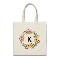Personalized bridesmaid bag monogramed for wedding