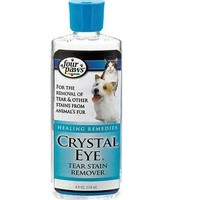 Four Paws Crystal Eye Dog & Cat Tear Stain Removal 4 oz