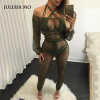 Elegant Rompers Women Jumpsuits 2016 Sexy Off The Shoulder  One piece Outfits Sleeveless Beach Loose Bodycon Jumpsuit Femme