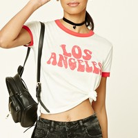 Los Angeles Graphic Ringer Tee