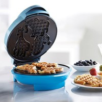 Brentwood Animal Shape Waffle Maker (Blue)