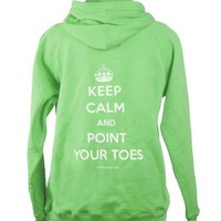 Covet Dance Clothing - Keep Calm and Point Your Toes Hoodie