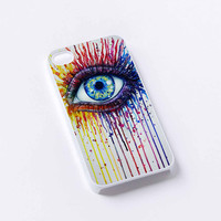 rainbow eyes sun iPhone 4/4S, 5/5S, 5C,6,6plus,and Samsung s3,s4,s5,s6