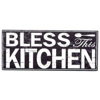 Black & White Bless This Kitchen Wall Plaque | Shop Hobby Lobby