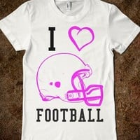 I LOVE FOOTBALL - glamfoxx.com