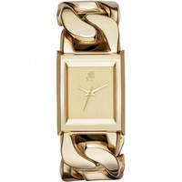 Karl Lagerfeld KL3002 Gold Chain Link Bracelet Ladies Watch