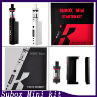Kanger subox Mini Starter Kit clone fit Kbox 50w box mod Kangertech OCC coils vs Subtank Mini subtank plus nano DHL Free shipping 0266016