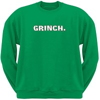 Grinch Green Crew Neck Sweatshirt