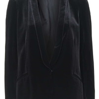 Velvet Boyfriend Jacket - View All