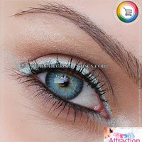 Light Blue Color Attraction Contact Lenses