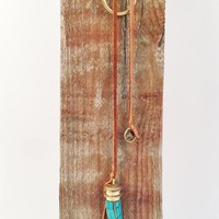 Vestige Turquoise Horn Necklace