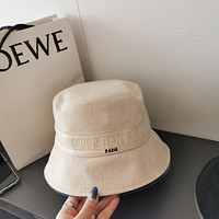 DIOR Classic old flower double-sided Fisherman's hat