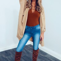 Win Them Over Jacket: Tan