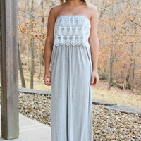 Ooh La Lace Maxi Dress