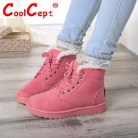 Size 35-40 Women Cross Strap Plush Flat Ankle Boots Half Short Boot Autumn Winter Warm Footwear Leisure Quality Vintage Shoes