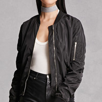 Women's Bomber Jackets | Fauz Leather, Quilted + More | Forever 21