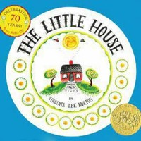 Vintage Inspired Girls Clothes The Little House 70th Anniversary Edition by Virginia Lee Burton | Vindie Baby