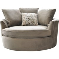 Red Barrel Studio Roquefort Cuddler Barrel Chair You'll Love | Wayfair.ca