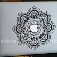 Flower sticker Macbook Decal for MacBook  keyboard  decal MacBook air sticker MacBook pro decal Macbook  sticker