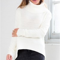 On A Roll Knit sweater in cream