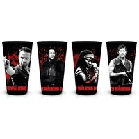 Just Funky The Walking Dead 4-pc. Pint Glass Set
