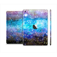 The Glowing Space Texture Full Body Skin Set for the Apple iPad Mini 2